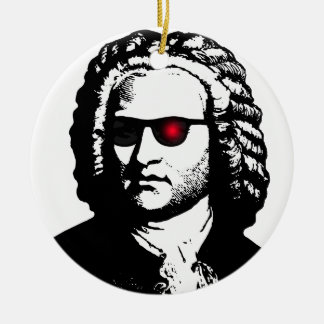I'll Be Bach Ceramic Ornament