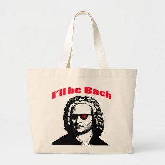 I'll Be Bach Large Tote Bag