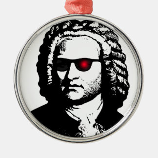 I'll Be Bach Metal Ornament
