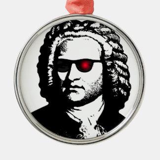 I'll Be Bach Metal Ornament
