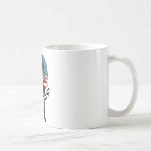 I'll be back classic white coffee mug