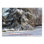 I'll be home for Christmas... Greeting Card