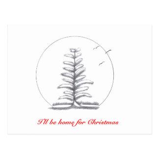 I'll be home for Christmas...Postcard Postcard
