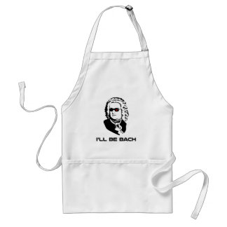 I'll Be Johann Sebastian Bach Adult Apron