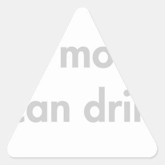 Ill-be-more-fun-fut-light-gray.png Triangle Sticker
