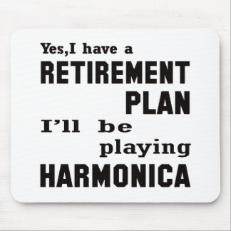I'll be playing harmonica. mouse pad