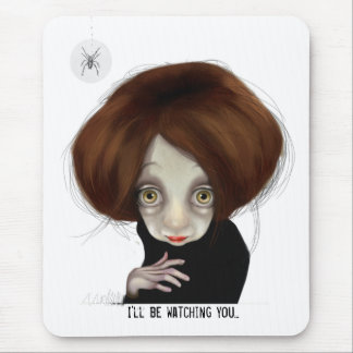I'll be watching you mouse pad