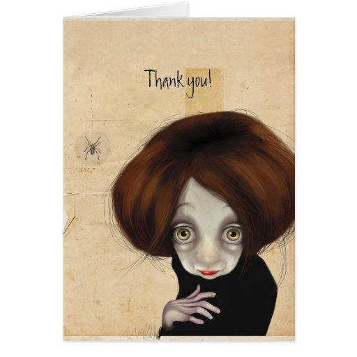 I'll be watching you stationery note card