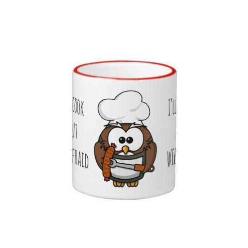 I'll burn my wiener coffee mug