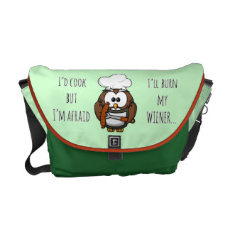 I'll burn my wiener messenger bags