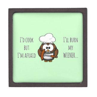 I'll burn my wiener premium gift box