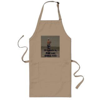 I'll catch it... long apron