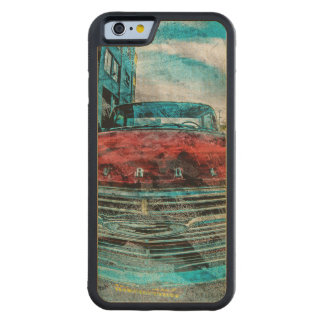 Ill Chevy'Rhino Mission Ride Off Sanfrancisco Carved Maple iPhone 6 Bumper Case