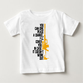 I'll Cover You With Rifle (Light) Baby T-Shirt