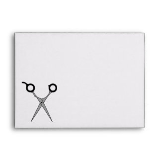 I'll Cut You (Black Hair Cutting Scissors) Envelopes