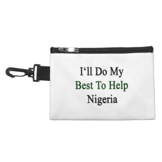I'll Do My Best To Help Nigeria Accessory Bags