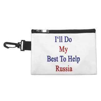 I'll Do My Best To Help Russia Accessory Bag