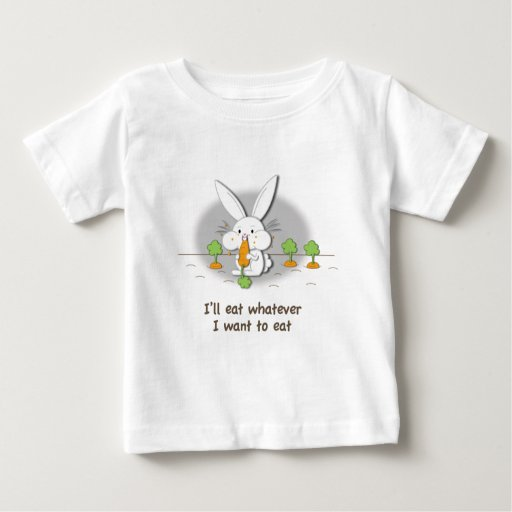 I'll eat whatever I want to eat (customizable) Baby T-Shirt