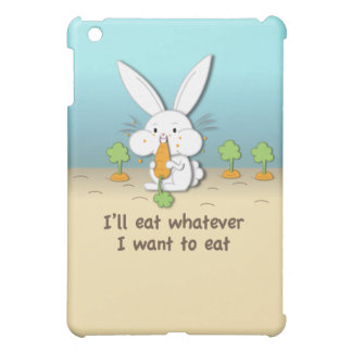 I'll eat whatever I want to eat (customizable) Cover For The iPad Mini