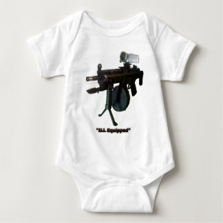 """""""ILL Equipped"""" Baby Bodysuit"""