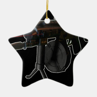ILL Equipped (Black) gsg5 Ceramic Ornament