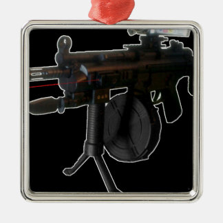 ILL Equipped (Black) gsg5 Metal Ornament