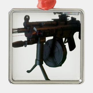 """""""ILL Equipped"""" Metal Ornament"""