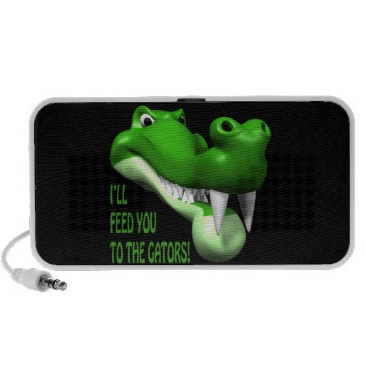 Ill Feed You To The Gators Notebook Speakers