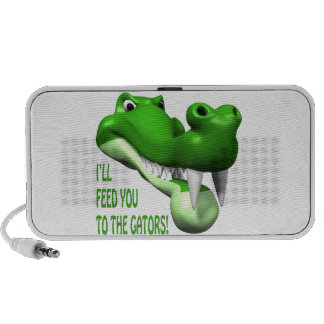 Ill Feed You To The Gators PC Speakers