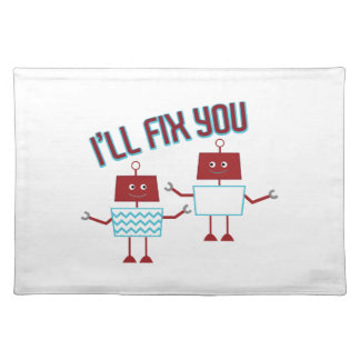Ill Fix You Cloth Placemat