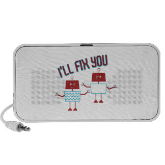 Ill Fix You Notebook Speakers