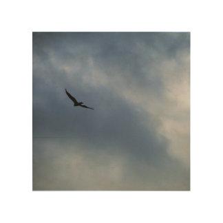I'll Fly Away Wood Print