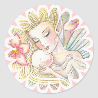 I'll Forever Love You Fairy Mama and Baby Stickers