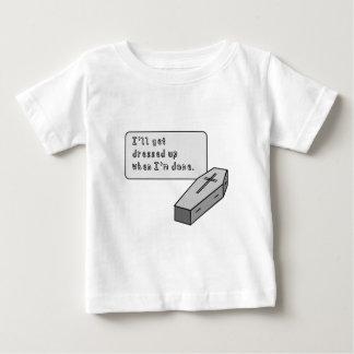 i'll get dressed up.pdf baby T-Shirt