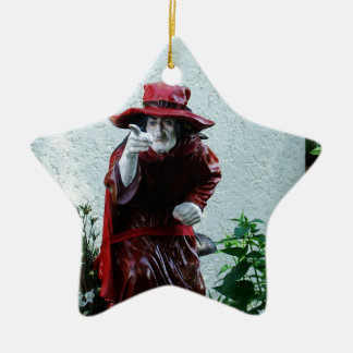 I'll Get you my Pretty Ceramic Ornament