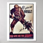 I'll Give 'Em Hell! Print