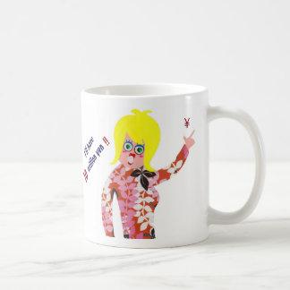 I'll have 10 trillion yen!! classic white coffee mug