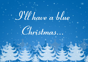 ill have a blue christmas holiday card - I Ll Have A Blue Christmas