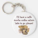 I'll have a caffe mocha vodka valium ... keychain
