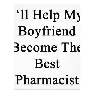 I'll Help My Boyfriend Become The Best Pharmacist. Letterhead