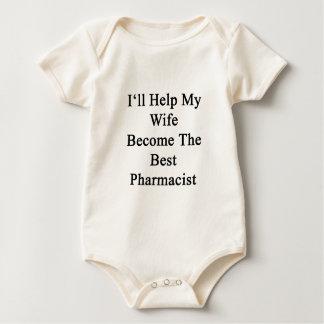 I'll Help My Wife Become The Best Pharmacist Romper