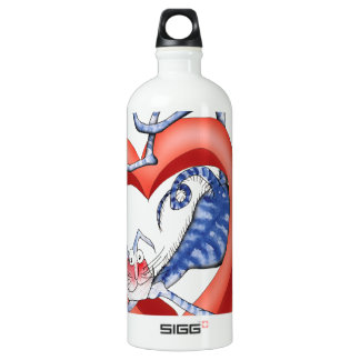 i'll jump through hoops for you, tony fernandes aluminum water bottle