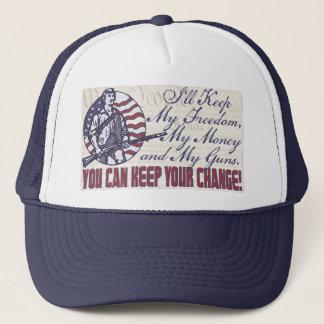 I'll Keep My Guns, Freedom Money 2nd Amendment Trucker Hat