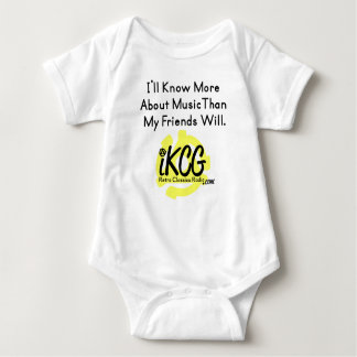 """""""I'll Know More..."""" iKCG logowear for baby Shirt"""
