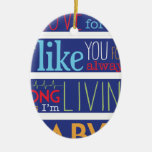 I'll love you forever christmas ornaments