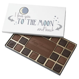 I'll Love You to the Moon and Back Anniversary Assorted Chocolates