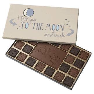 I'll Love You to the Moon and Back Valentine 45 Piece Box Of Chocolates