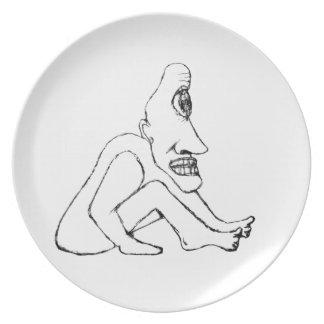 Ill Man Plates