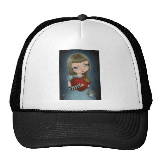 I'll mend your heart... mesh hat