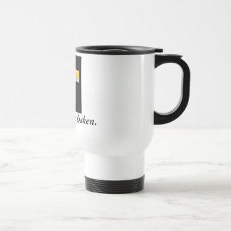 I'll never be shaken/ Cross Travel Mug